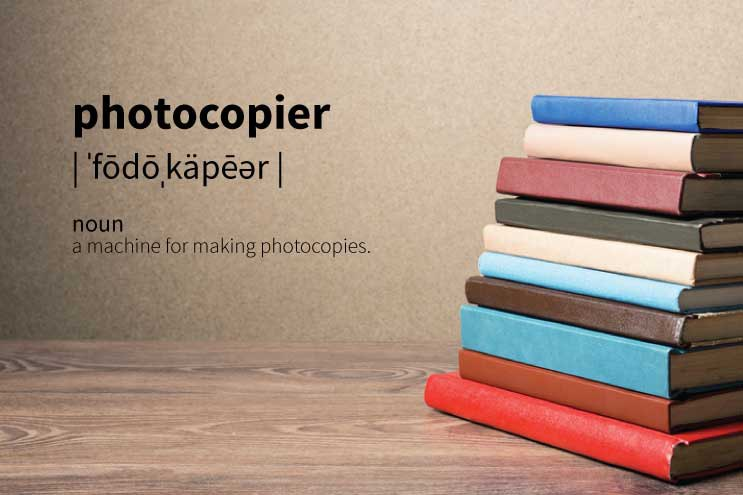 Definition of a Photocopier in Under 100 Words