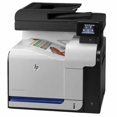 HP LaserJet Pro 500 color MFP M570dn angled