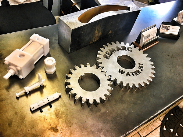 3D printing prototypes and parts for manufacturing from Remarc Manufacturing.