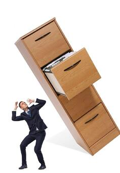 Don't let poorly managed documents be the death of you - get rid of your filing cabinets with better document management.