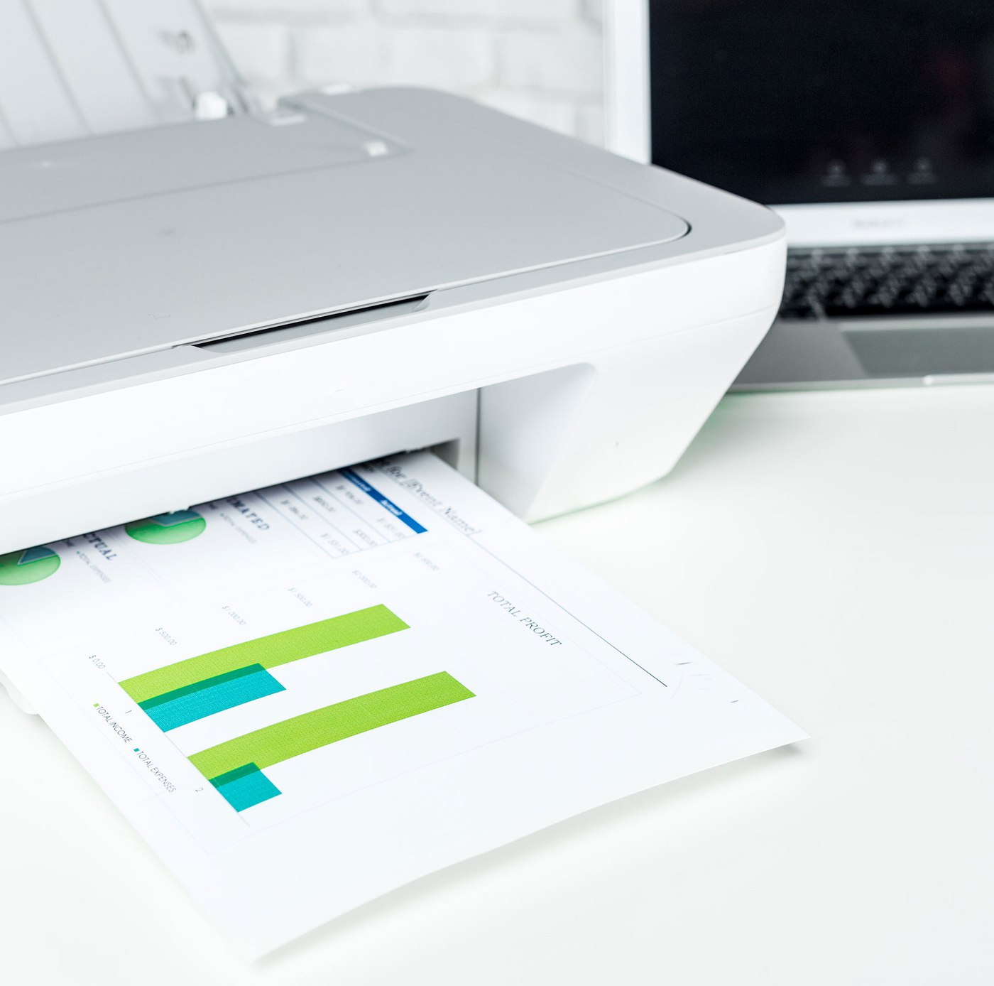 Desktop Printers allow you to provide secure places for confidential documents - like HR records - to be printed away from any prying eyes.