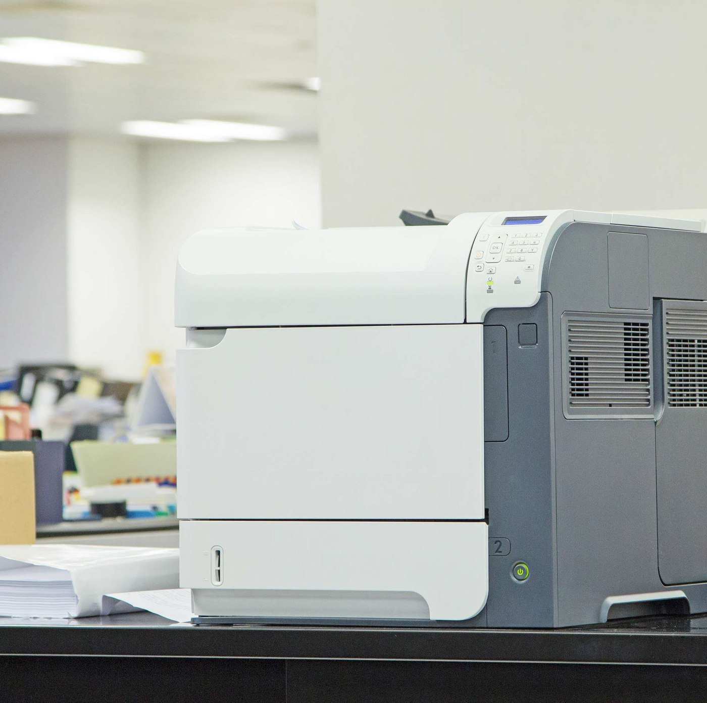Laser Printers will get any job done right the first time - without sacrificing speed or quality.