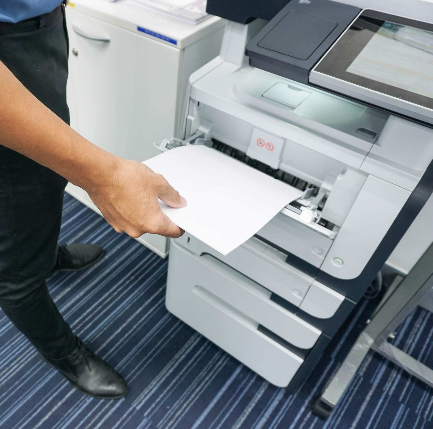 Multifunction Printers do more than print - they also copy, scan, fax, and more.