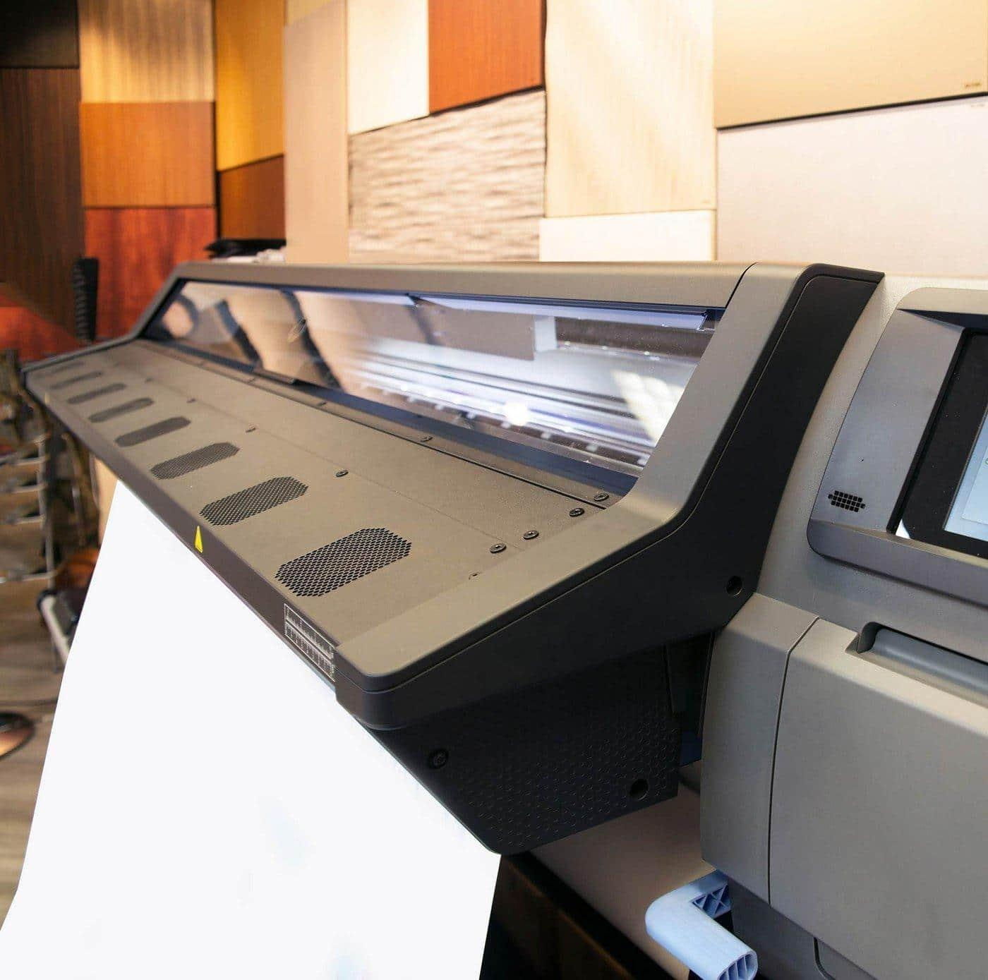 Wide-Format Printers allow your business to bring all large format printing in house.
