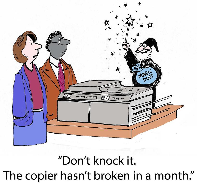 A broken copier can kill your office productivity.