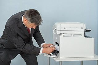 Copiers have paper jams and other common problems. Here are the causes and a few quick fixes for each.