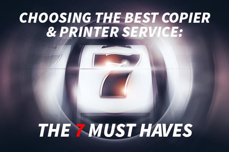 Copier and Repair Service 7 Traits Image