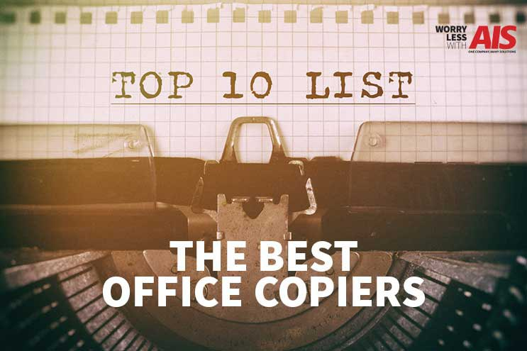 Top 10 office copiers for your business image
