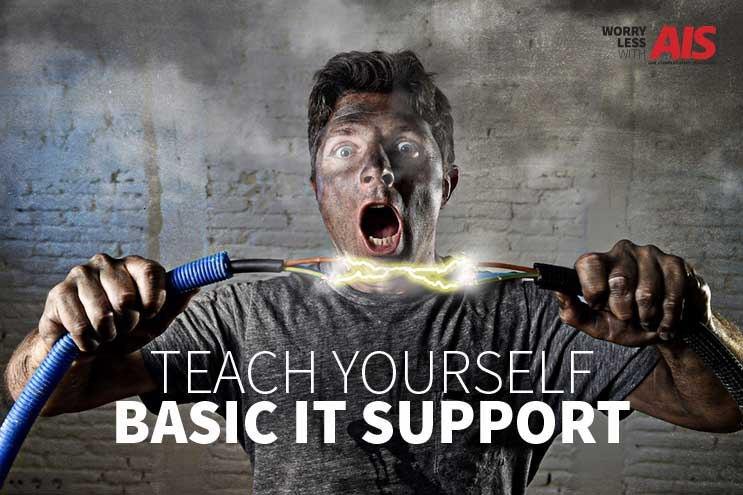How do I teach myself basic IT support?