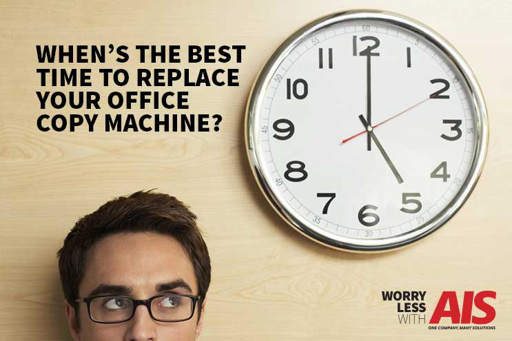 When to Replace Your Office Copy Machine