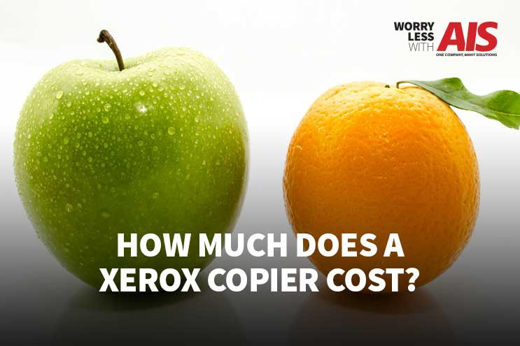 How Much Does a Xerox Copier Cost?