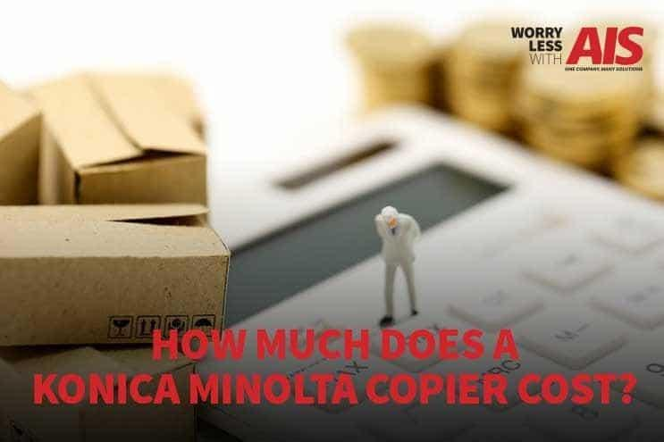 How Much Does a Konica Minolta Copier Cost