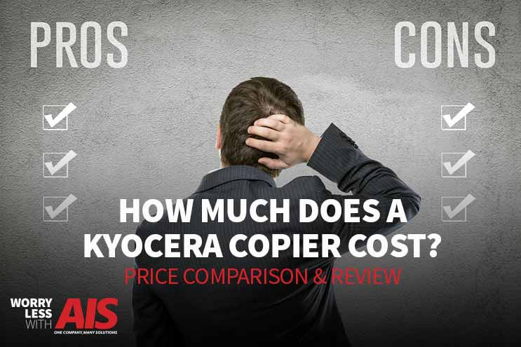 How much does a Kyocera Copier Cost?