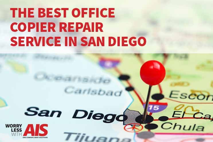 How to find the best office copier repair service in San Diego