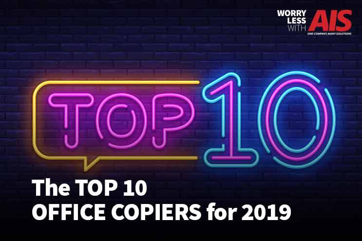 Top 10 Office Copiers for 2019
