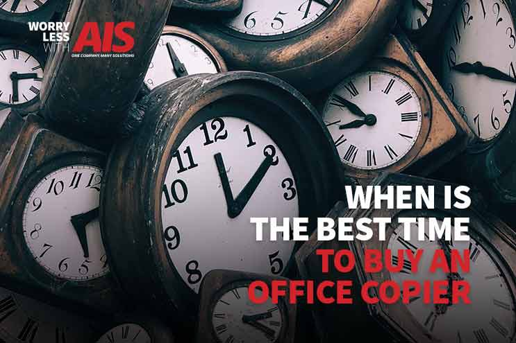 When Is The Best Time To Buy An Office Copier?