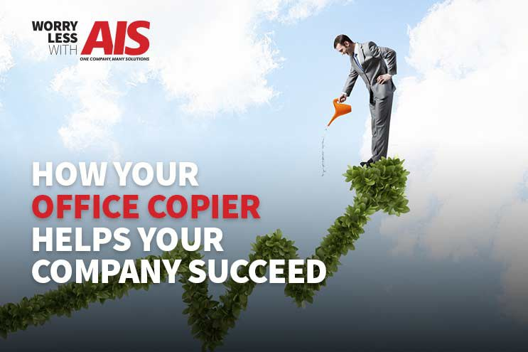 How Your Office Copier Helps Your Company Succeed