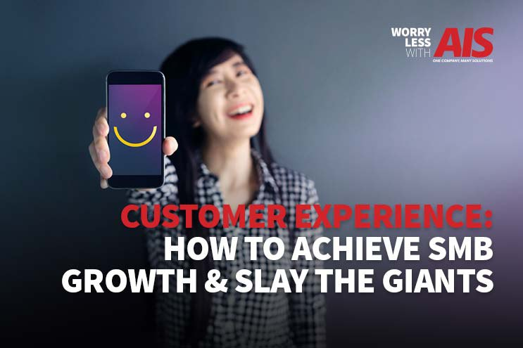 Customer Experience: How To Achieve SMB Growth and Slay the Giants