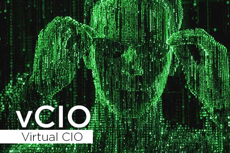 What is a Virtual CIO (vCIO)? Matrix-style image