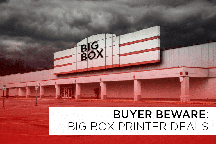 Laser Printer Repair vs. Big Box Printer Deals