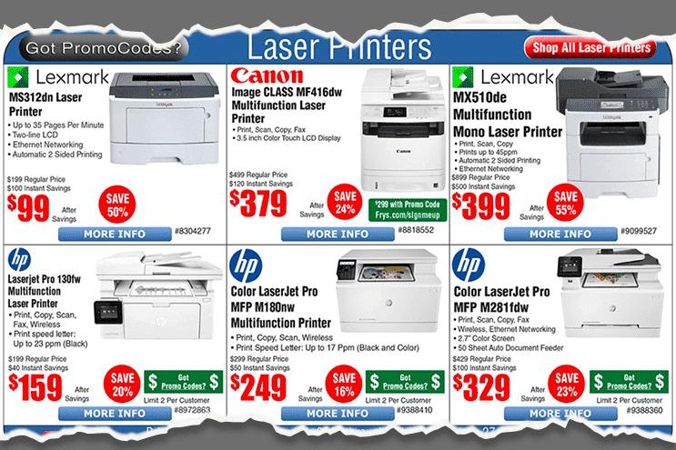 Laser Printer Repair Advertisement