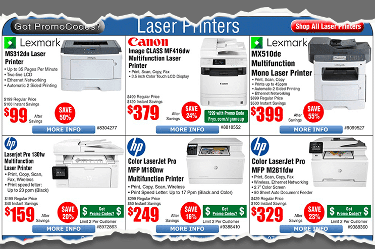 Laser Printer Repair Advertisement