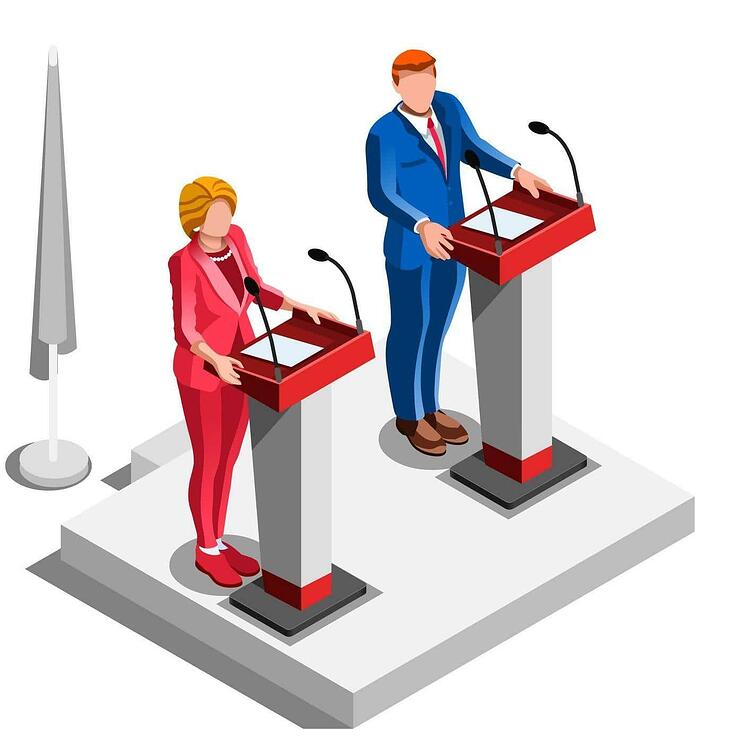 AIS Presidential Debate Copier Supplier Image