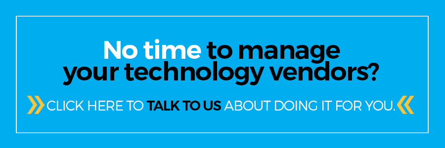 Let's chat about how you manage your technology vendors