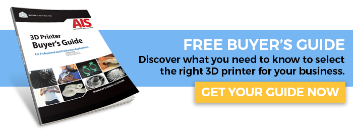Do you know how to pick the right 3D printer for your business? Click here for you FREE 3D PRINTER BUYER'S GUIDE