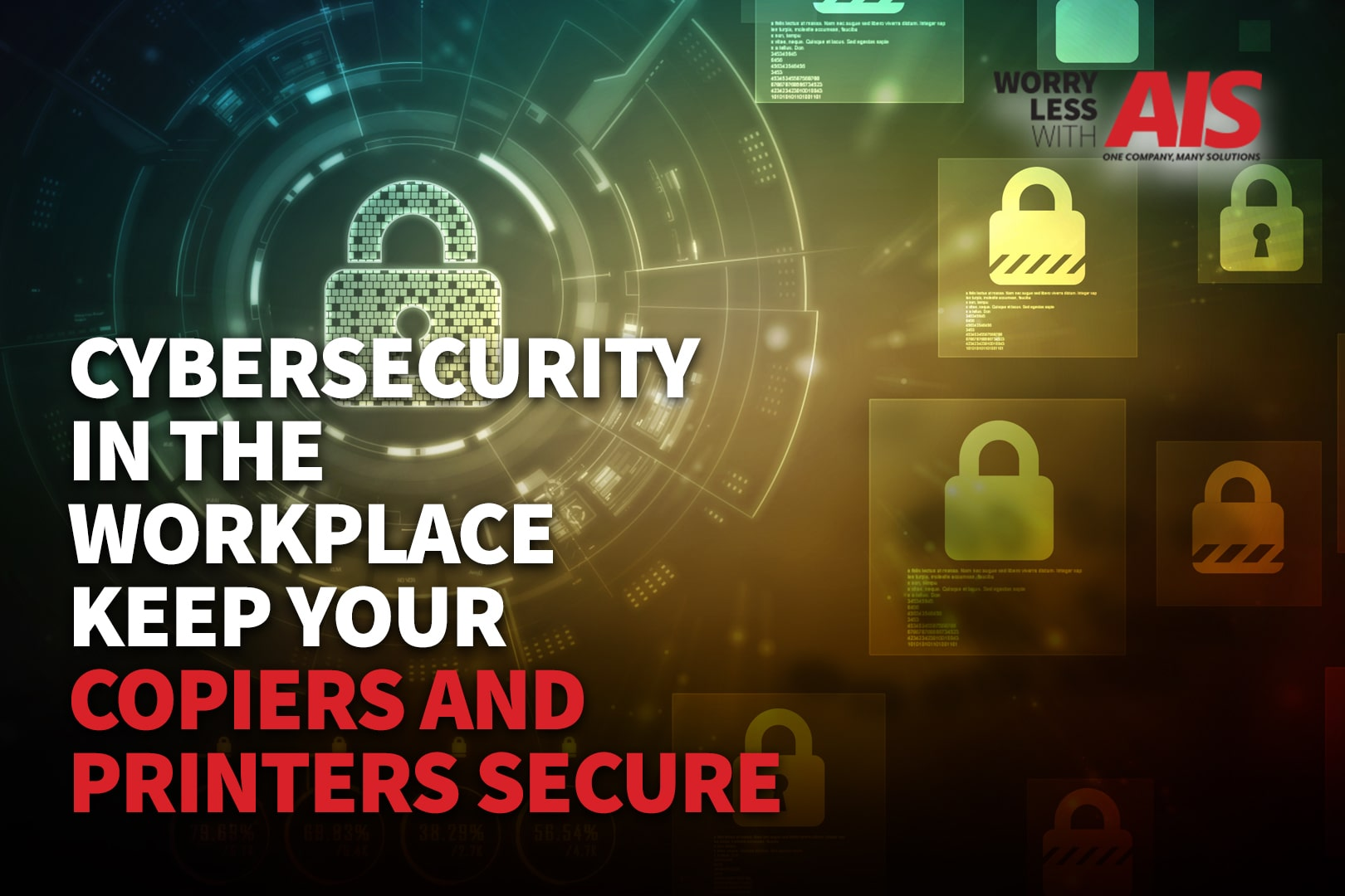 Cybersecurity And The Workplace: Keep Your Office Copiers and Printers Secure
