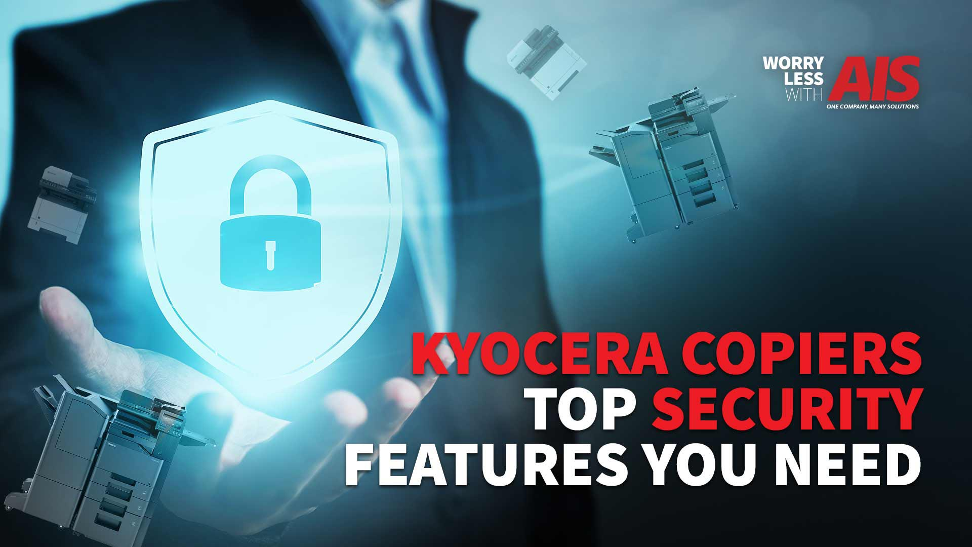 Kyocera Copiers: Top Security Features You Need