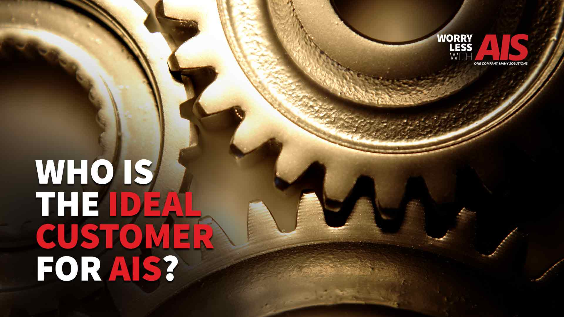 Who Is The Ideal Customer For AIS?
