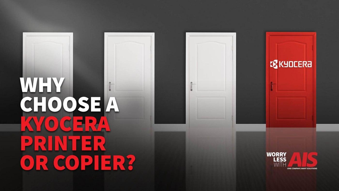 Why Choose A Kyocera Printer or Copier?