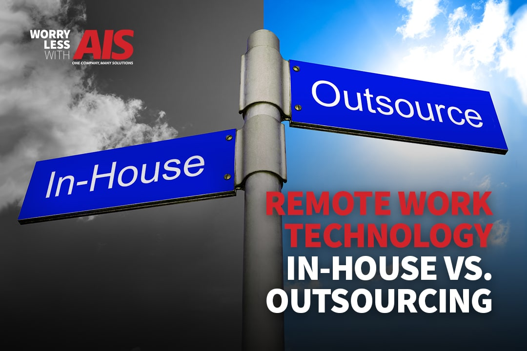 Remote Work Tech Support: In-house vs. Outsourcing