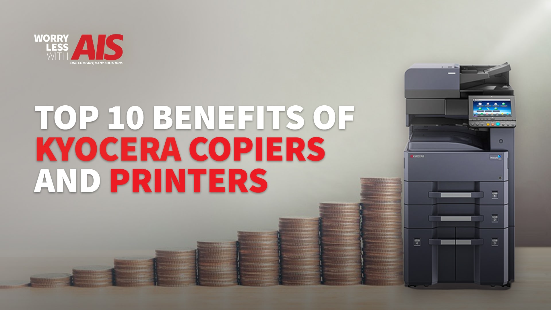 Top 10 Benefits of Kyocera Copiers and Printers
