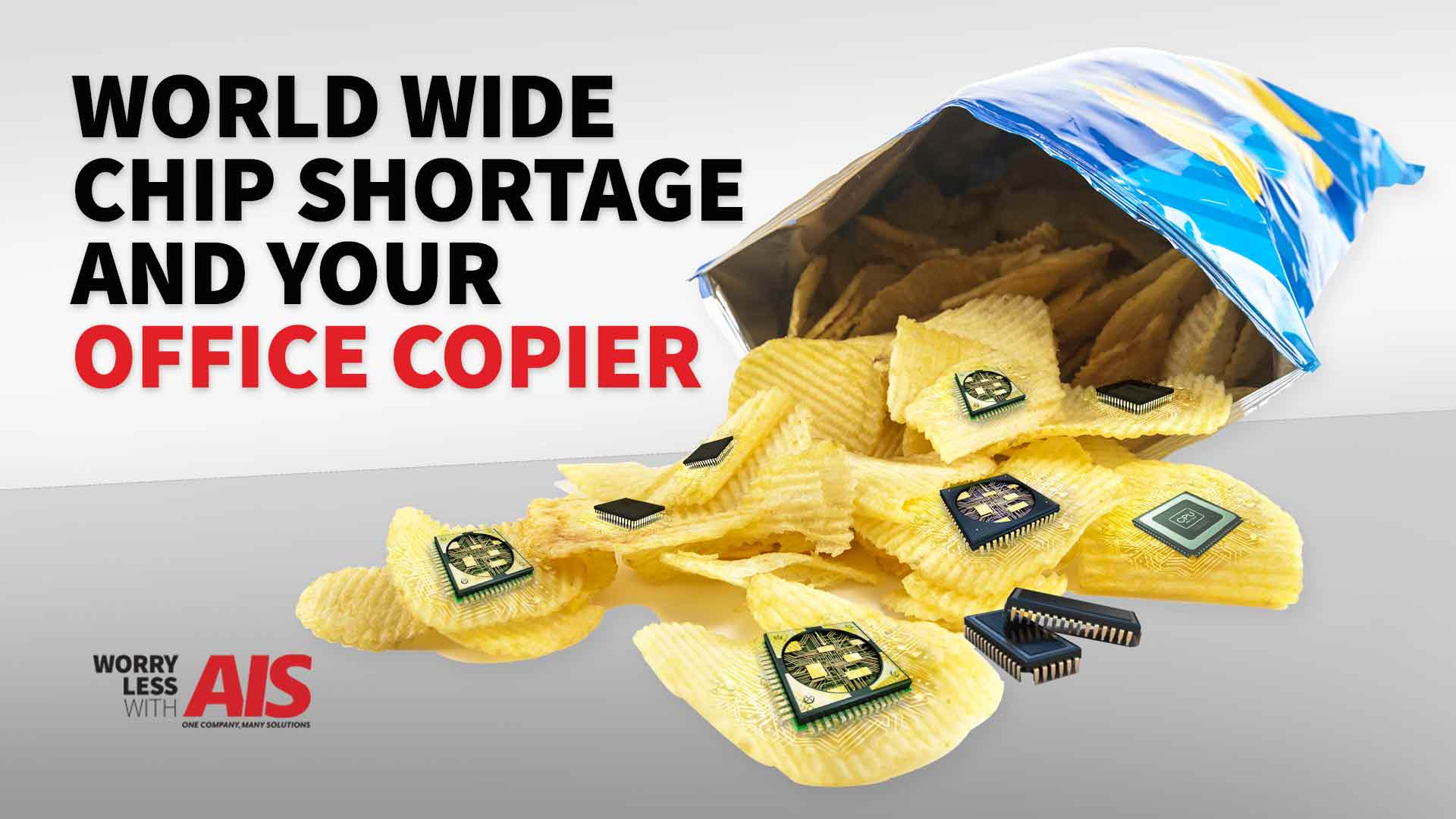 Worldwide Chip Shortage and Logistics: How Does It Affect Your Office Copier?