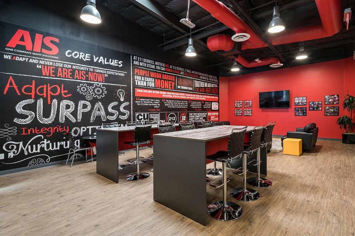 AIS Las Vegas Award Winning Office Break Room Photo