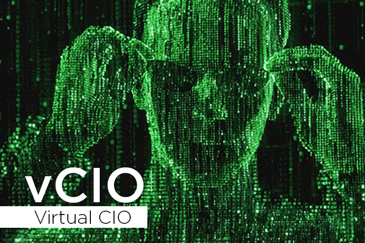 What is a Virtual CIO (vCIO)? Matrix-style image