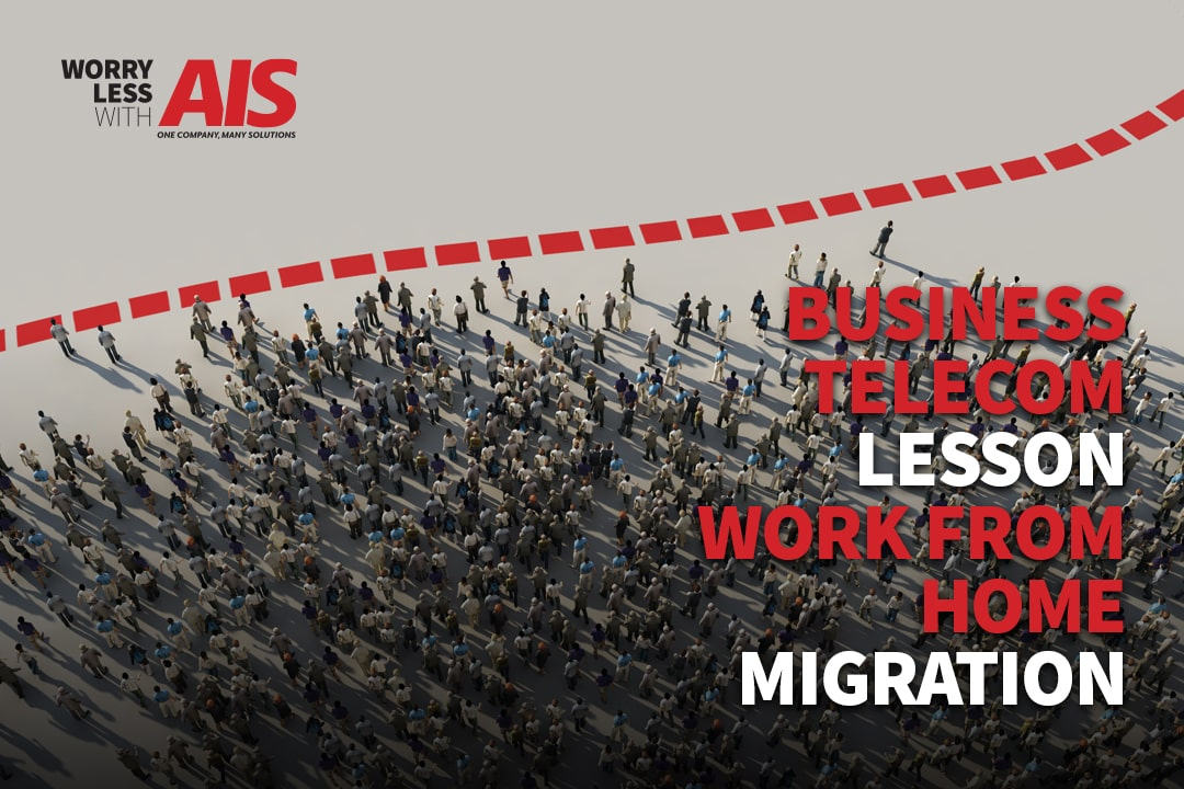 A Telecom Lesson: The Work From Home (WFH) Migration