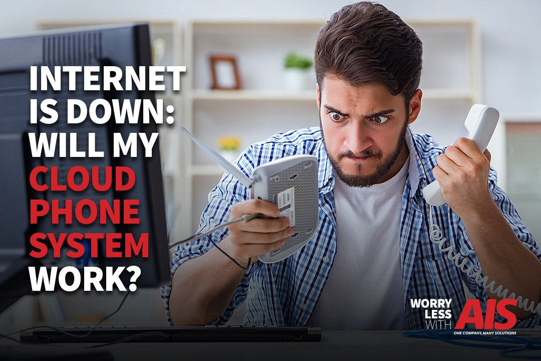 If I Switch To A Cloud Phone System, What Happens If My Internet Goes Down?