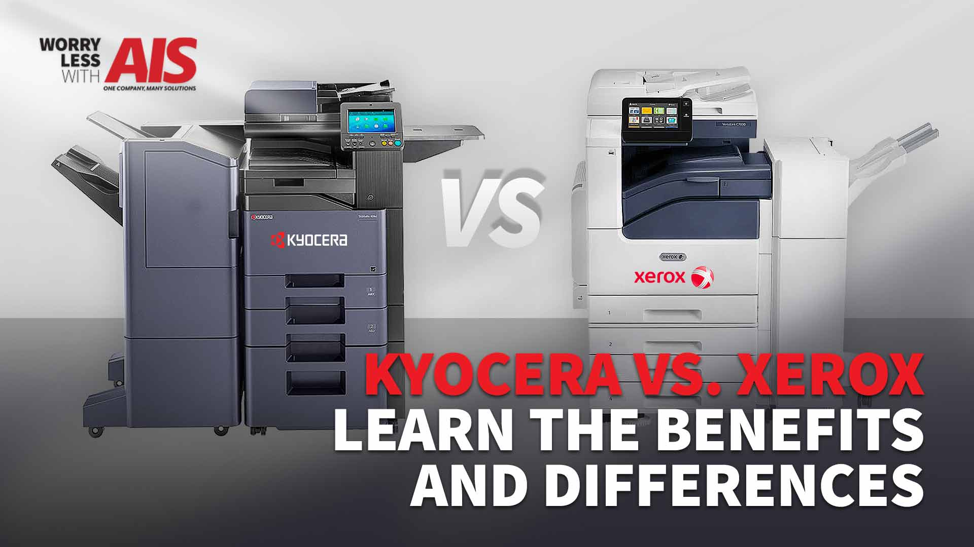 Kyocera vs. Xerox: Learn The Benefits and Differences