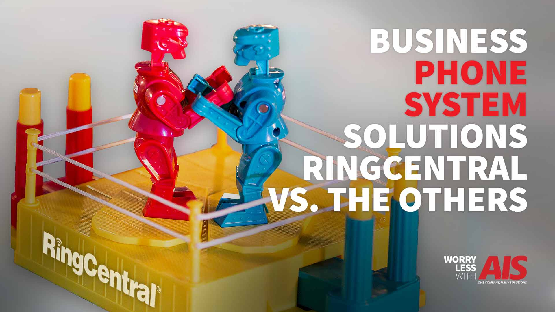Business Phone System Solutions: RingCentral vs. All Others