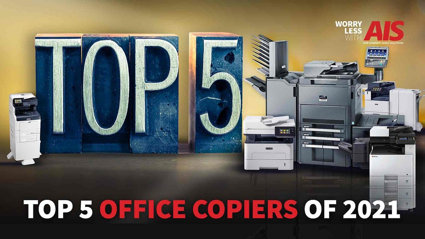 Top 5 Office Copiers of 2021